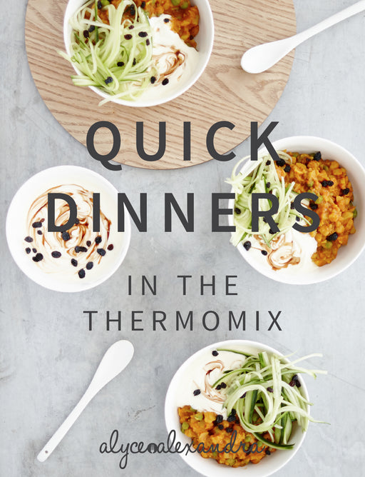 Quick Dinners - the TM shop - Thermomix recipes, Thermomix cookbooks, Thermomix accessories