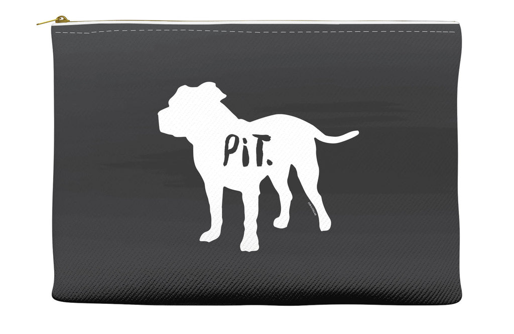 Black Pitbull Accessory Pouch