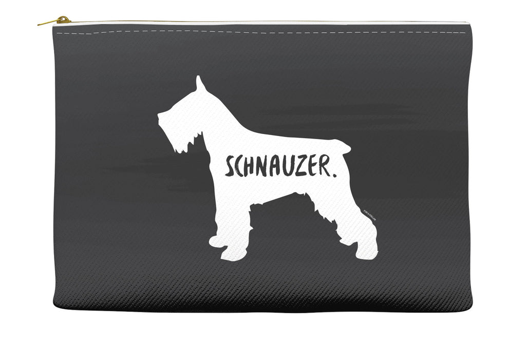 Black Schnauzer Accessory Pouch
