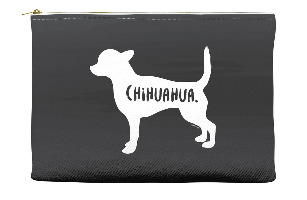Black Chihuahua Accessory Pouch