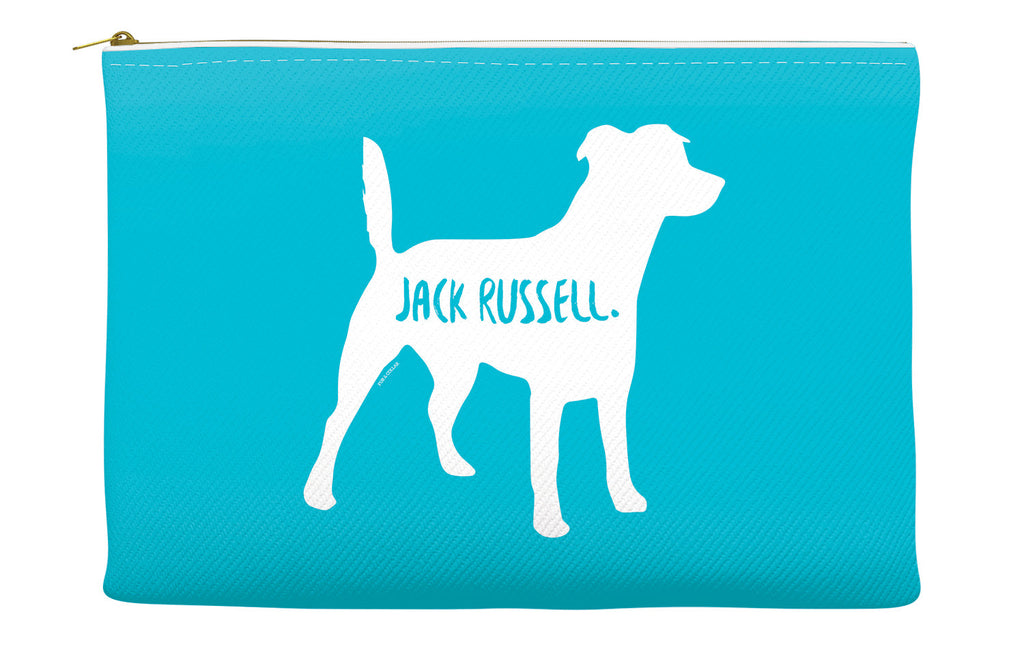 Blue Jack Russell Accessory Pouch