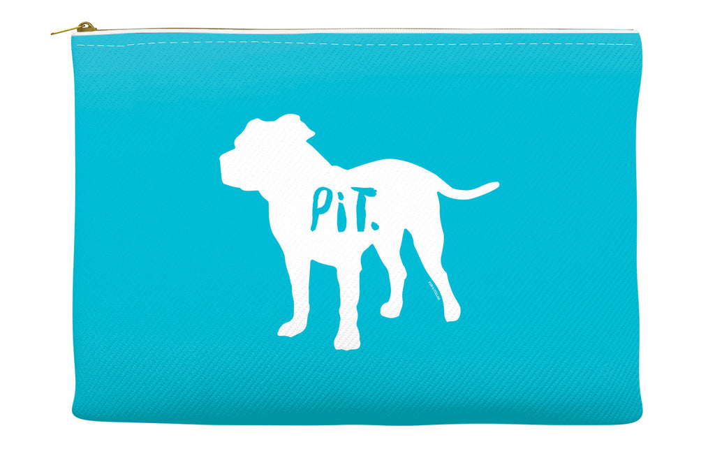 Blue Pitbull Accessory Pouch