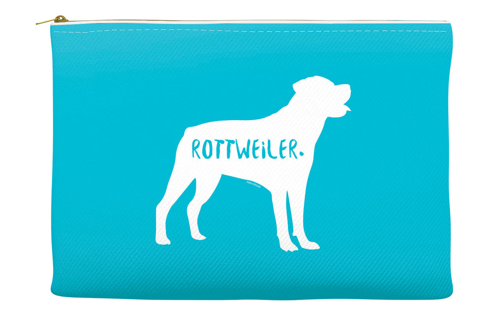 Blue Rottweiler Accessory Pouch