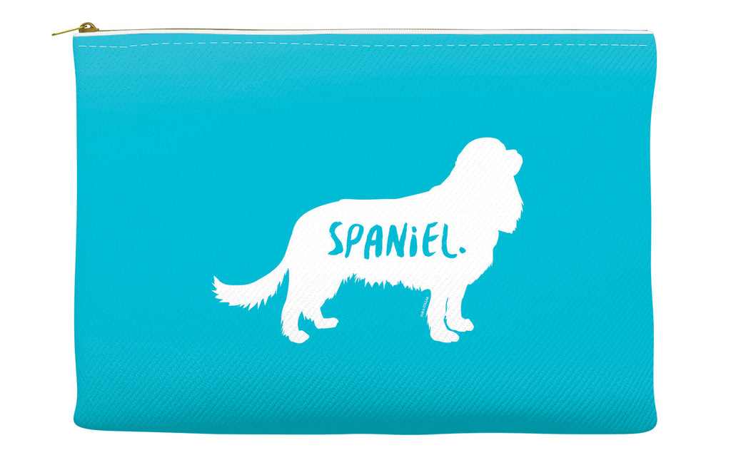 Blue Spaniel Accessory Pouch