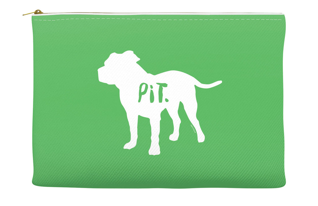 Green Pitbull Accessory Pouch