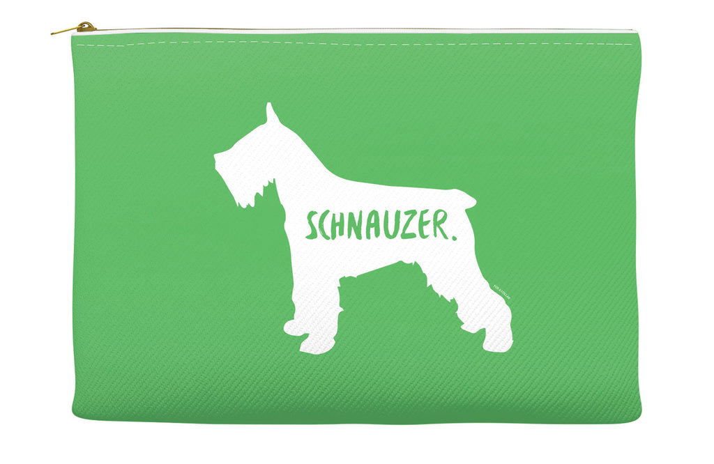 Green Schnauzer Accessory Pouch