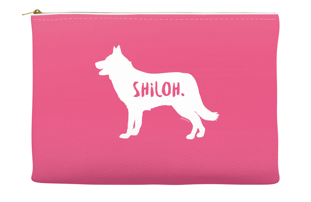 Pink Shiloh Shepherd Accessory Pouch