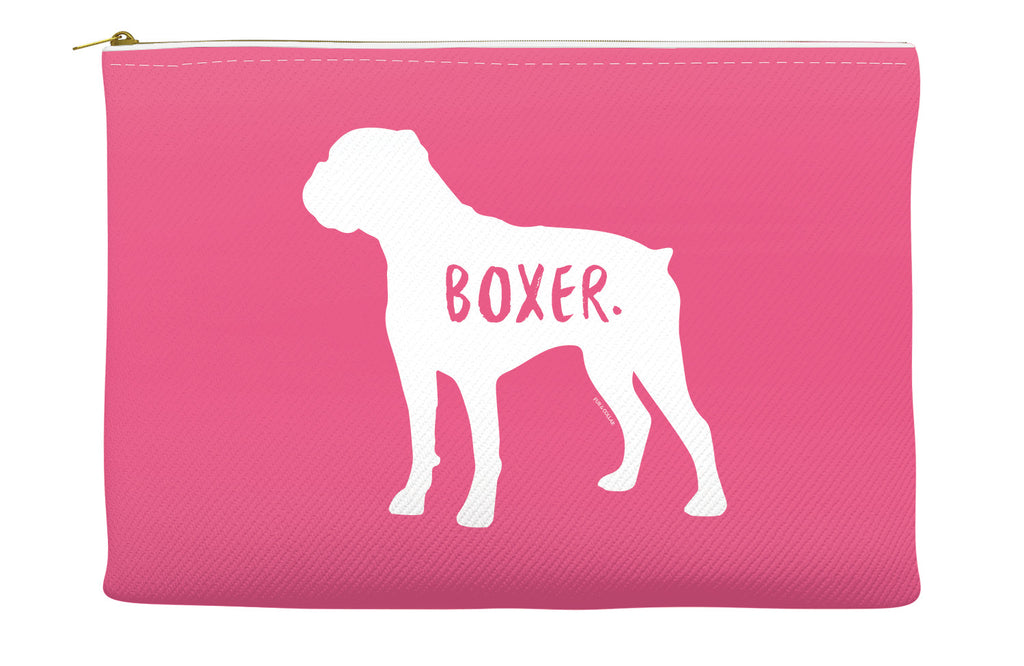 Pink Boxer Accessory Pouch