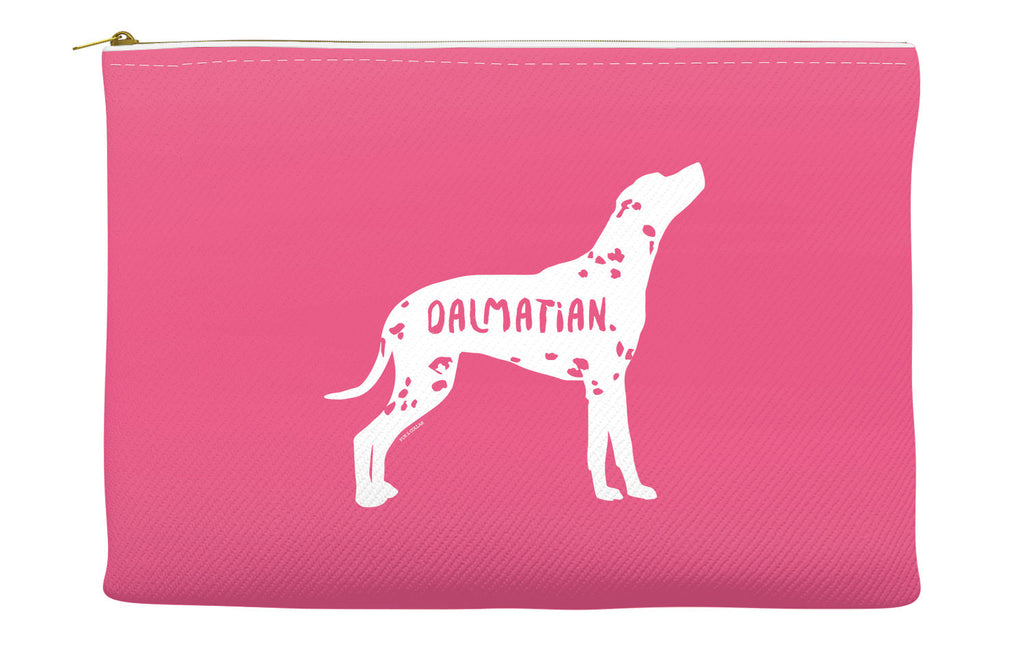 Pink Dalmatian Accessory Pouch