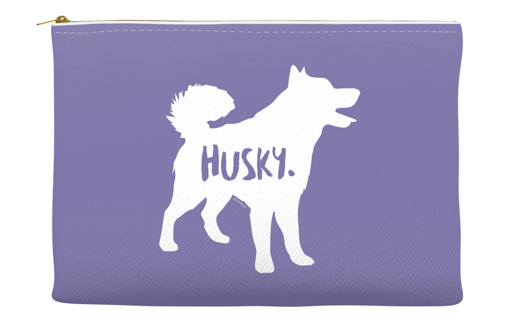Purple Husky Accessory Pouch