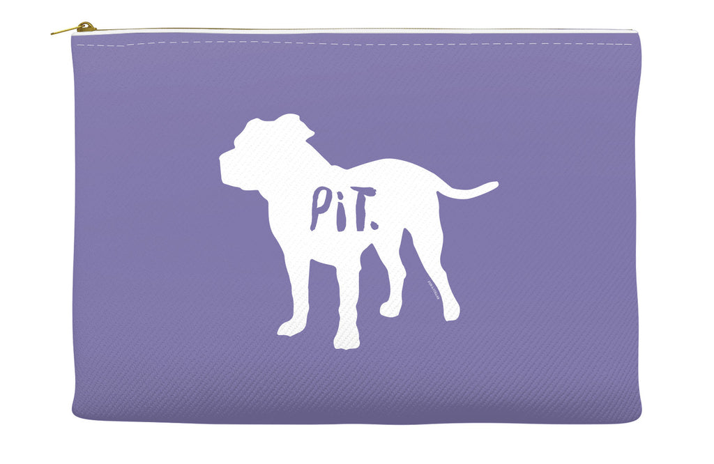 Purple Pitbull Accessory Pouch