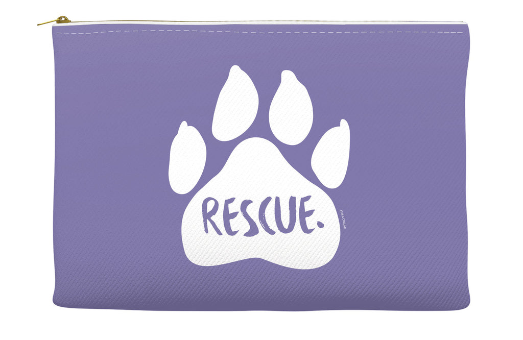 Purple Rescue Accessory Pouch
