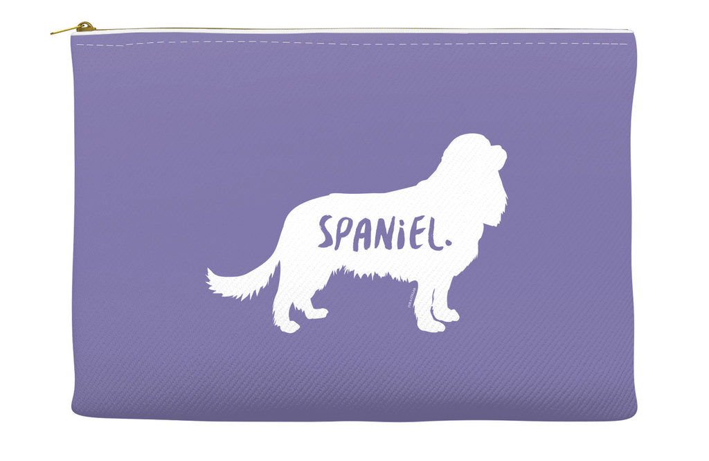 Purple Spaniel Accessory Pouch