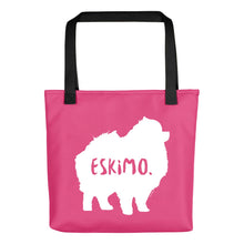 Load image into Gallery viewer, American Eskimo Tote Bag