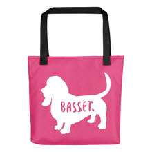 Load image into Gallery viewer, Basset Tote Bag