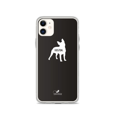 Boston Terrier Phone Case - Fur & Collar - 1