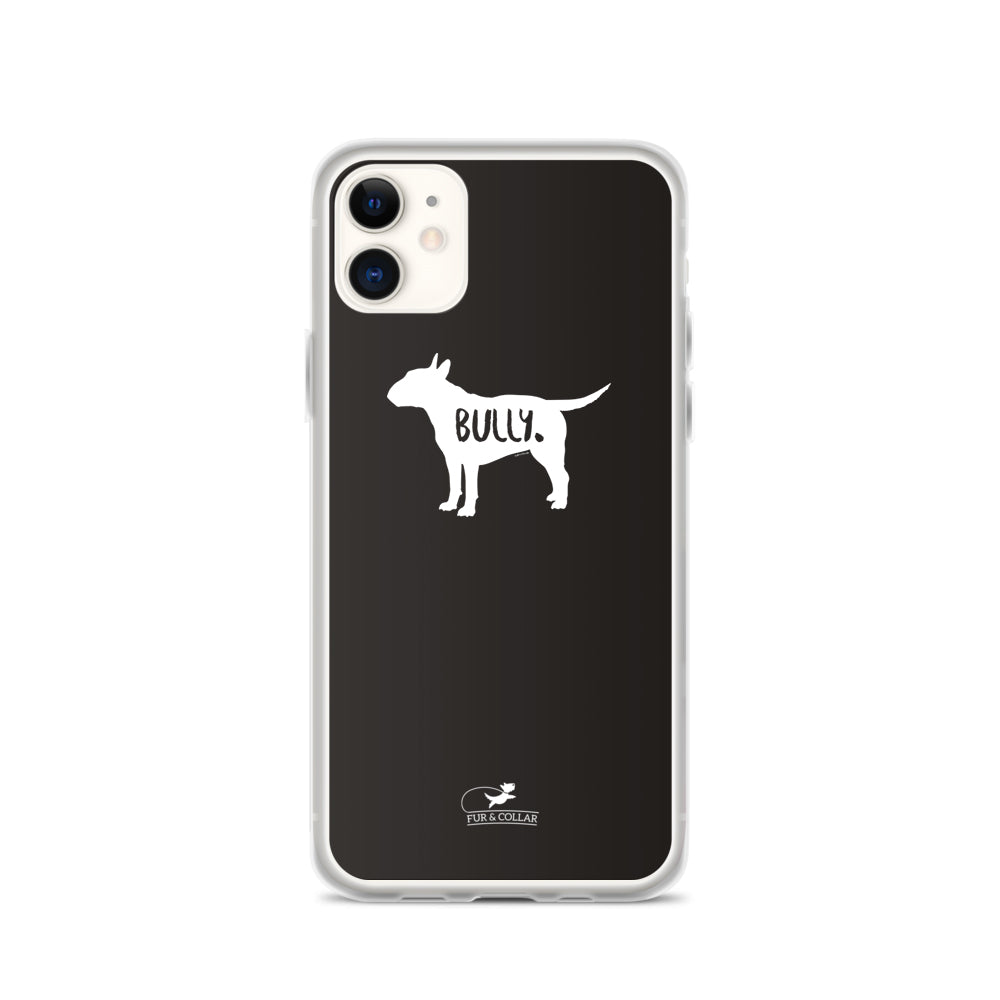 Bull Terrier Phone Case - Black
