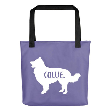 Collie Tote Bag