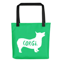 Load image into Gallery viewer, Corgi Tote Bag