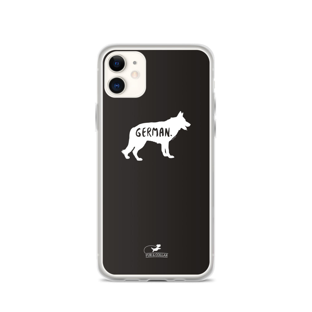 German Shepherd Phone Case - Fur & Collar - 1