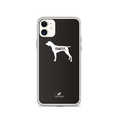 German Shorthaired Pointer Phone Case - Black