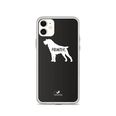 German Wirehaired Pointer Phone Case - Black