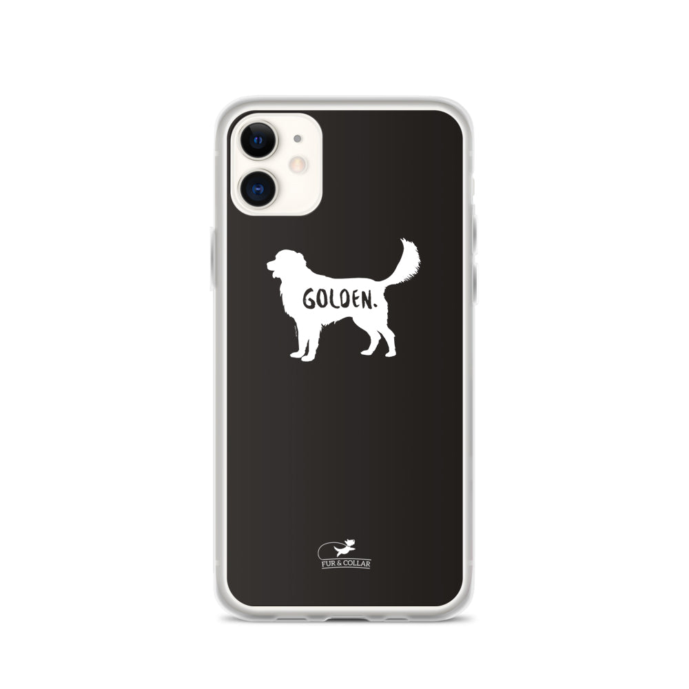 Golden Retriever Phone Case - Fur & Collar - 1
