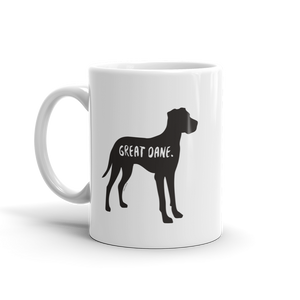 Great Dane Mug - Fur & Collar