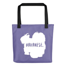 Load image into Gallery viewer, Havanese Tote Bag