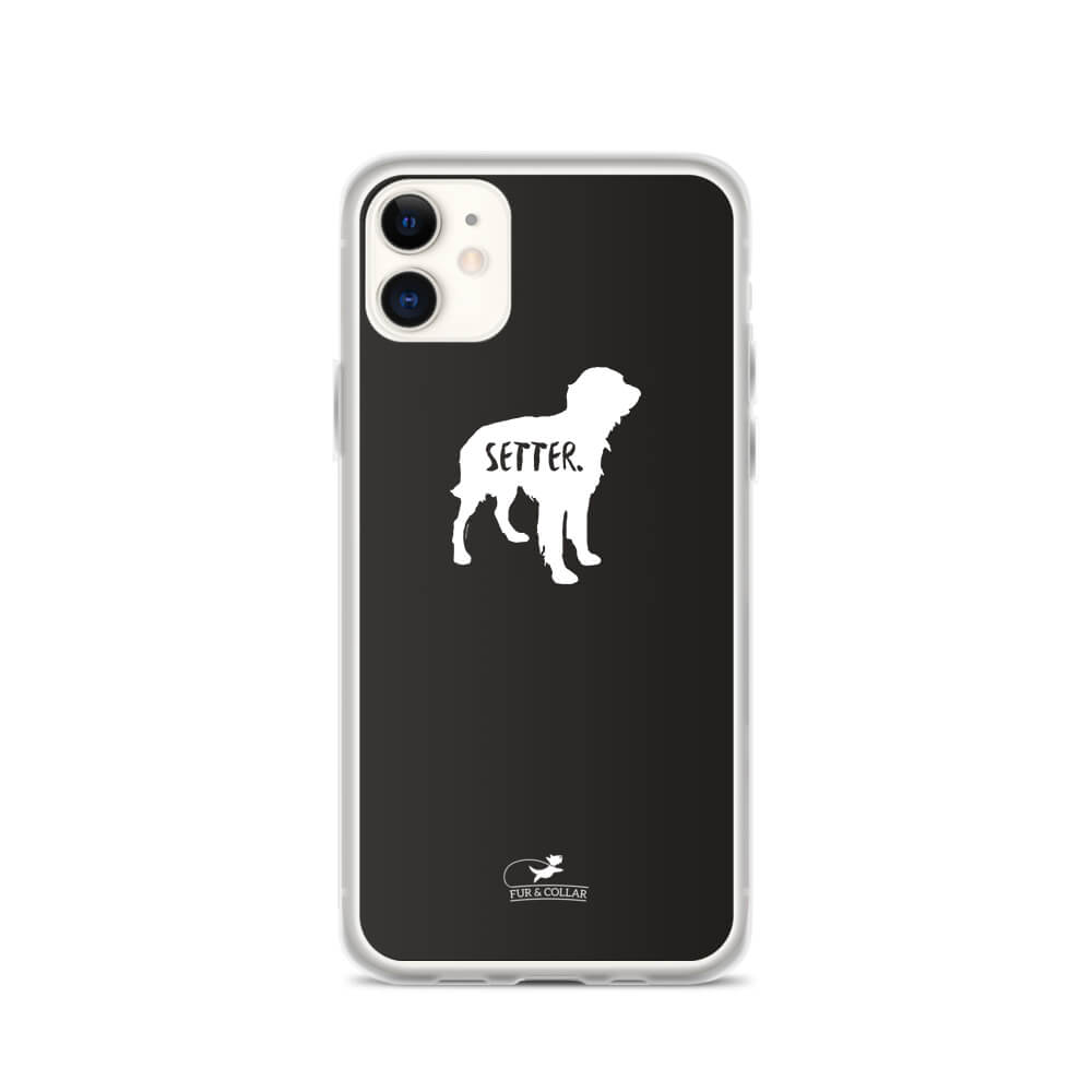 Irish Setter Phone Case - Black