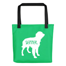Load image into Gallery viewer, Irish Setter Tote Bag