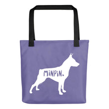 Load image into Gallery viewer, Miniature Pinscher Tote Bag
