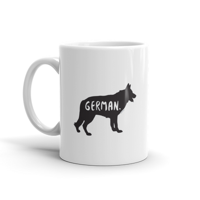 German Shepherd Mug - Fur & Collar