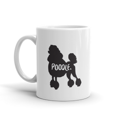 Poodle Mug - Fur & Collar