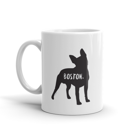 Boston Terrier Mug - Fur & Collar
