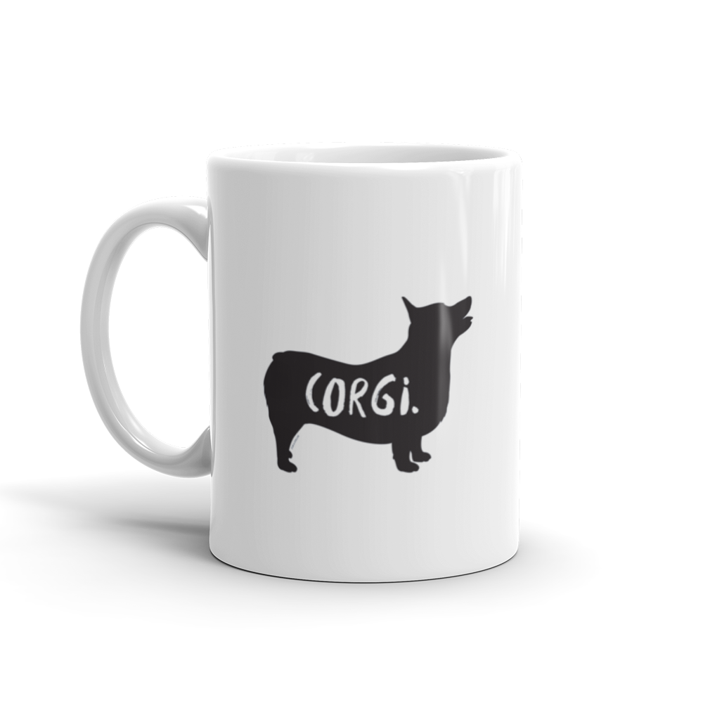Corgi Mug - Fur & Collar