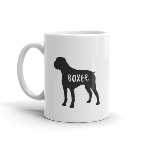 Boxer Mug - Fur & Collar