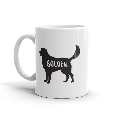 Golden Retriever Mug - Fur & Collar