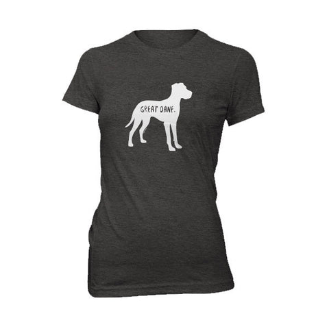 Great Dane Women's T-Shirt - Fur & Collar