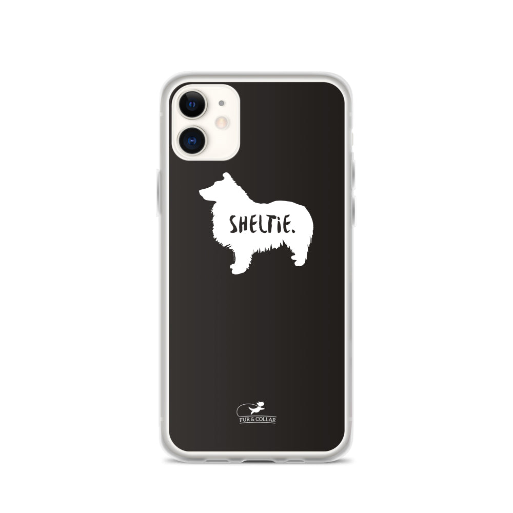 Sheltie Phone Case - Black