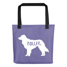 Load image into Gallery viewer, Nova Scotia Duck Tolling Retriever Tote Bag
