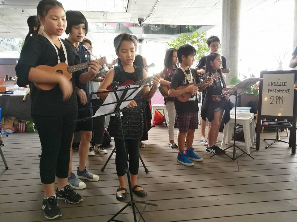Ribbee Ukulele Ensemble @ The Commons