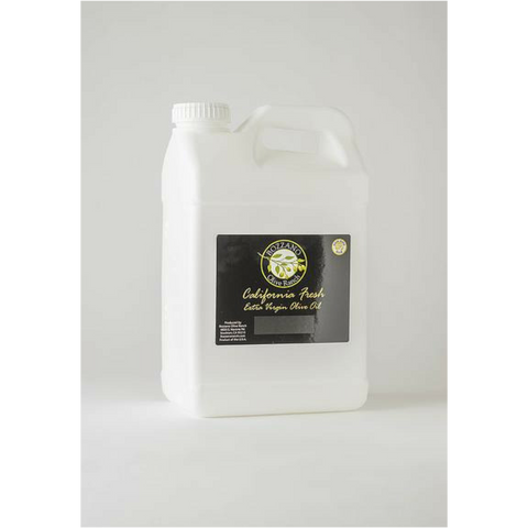 1 Gallon Taggiasca Organic Extra Virgin Olive Oil from Bozzano Olive Ranch