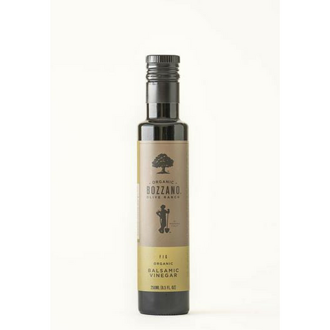 250mL Fig Organic Balsamic Vinegar from Bozzano Olive Ranch