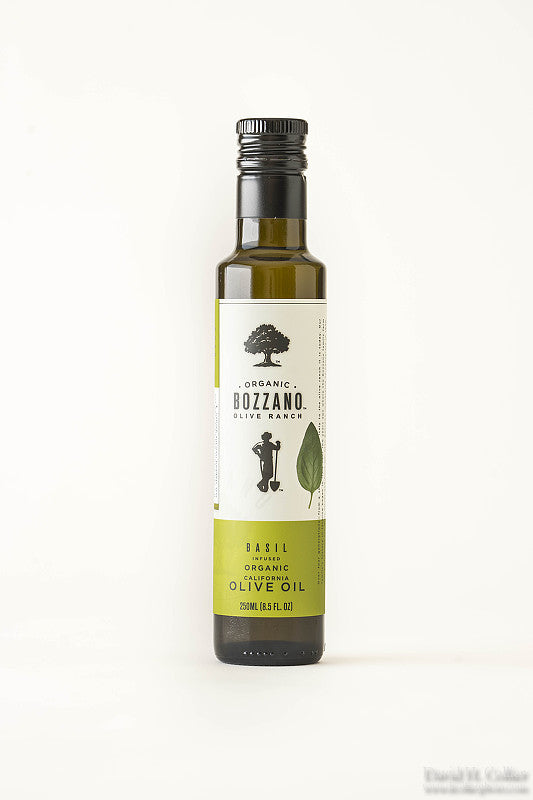 Basil Organic Flavored Olive Oil