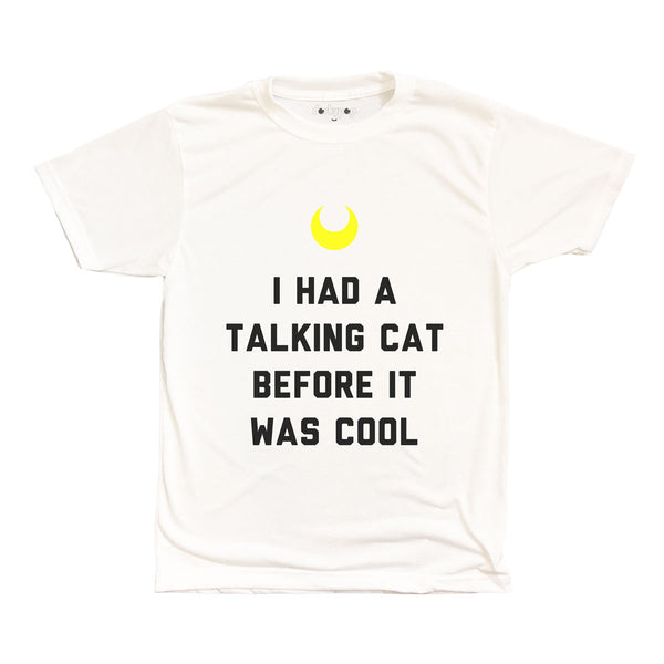 Talking Cat Tee - DORKYPOP