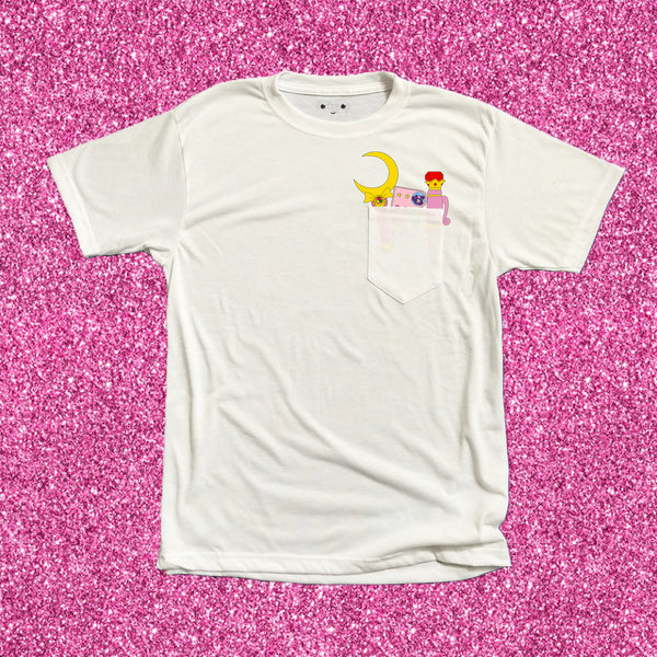 Glitter Magical Pocket Tee - DORKYPOP
