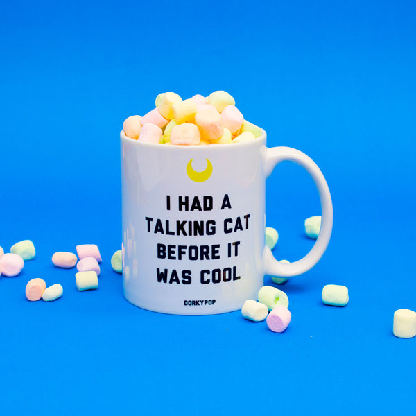 Talking Cat Mug - DORKYPOP