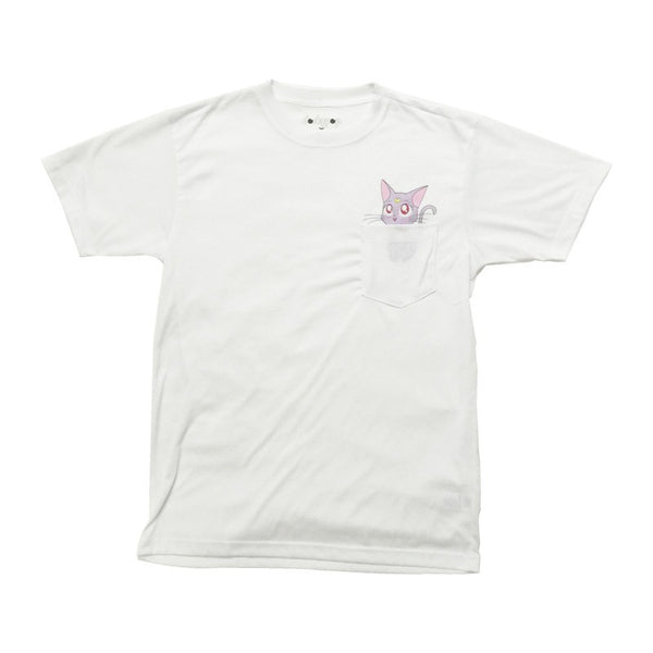 Kawaii Diana Pocket Tee - DORKYPOP