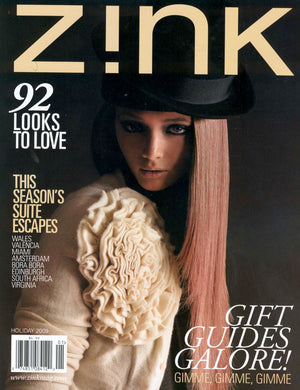 Thank You Zink Magazine, featuring #mimiplange